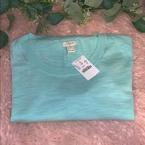 🔥❤️❤️J.CREW THIN SEA FOAM GREEN SWEATER❤️